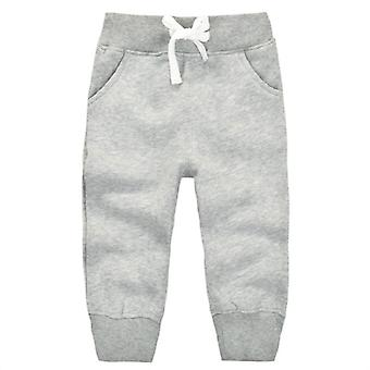 Winter Warm Velvet Casual Sport Sweatpants For 1.5 Year Babies