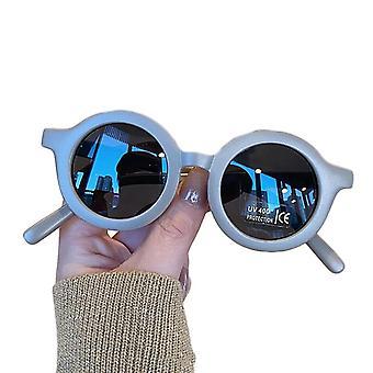 الأطفال & apos;ق الرضع'ق الرجعية نمط النظارات الشمسية ذات اللون الصلب