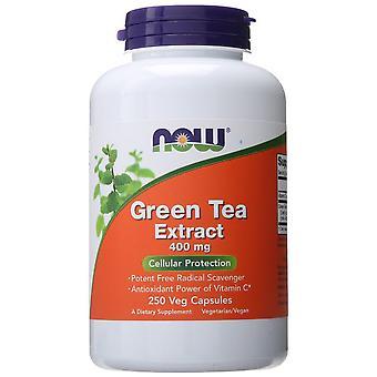 Nyt Elintarvikkeet Vihreä Tee Uute 400 mg 100 Kapseln