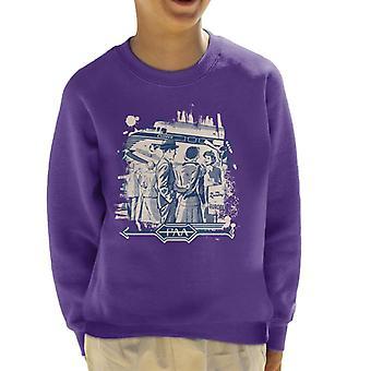 Pan Am The Rainbow Kid's Sweatshirt