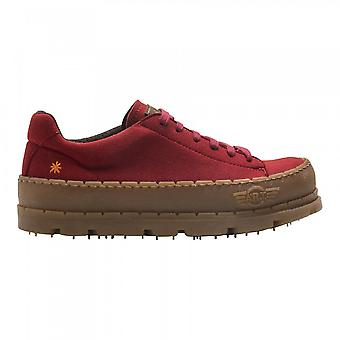 The Art Company 1773 Blue Planet Shoe Suede Red
