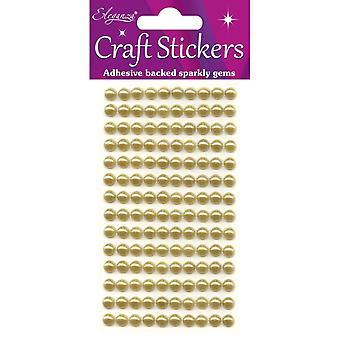 Oaktree UK Ltd - Eleganza 4mm x 240 Pearls Gold No.35