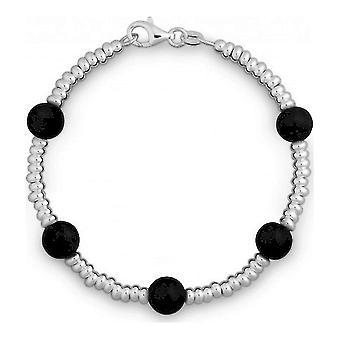 QUINN - Pulseira - Senhoras - Prata 925 - Gemstone - Onyx - 2831202