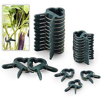 Wokex 80 stuck Pflanzenclips Stabile Clips Pflanzenklammern fr Pflanzen Sicherung Untersttzt