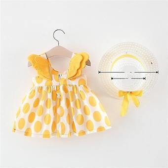 Φόρεμα πριγκήπισσας μωρών μικρών παιδιών, νέο καλοκαιρινό νεογέννητο φόρεμα