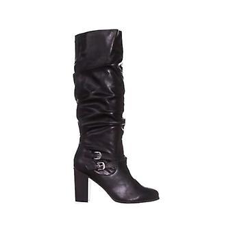 شركة & نمط صوفي النسائية المغلقة تو الركبة عالية أزياء أحذية