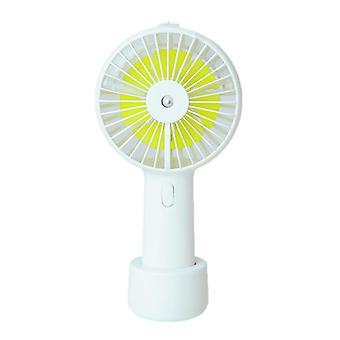 Mini fan hanging neck handheld spray usb atomization cooling fan hydrating desktop students