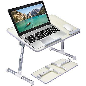 FengChun Neetto GROFORMAT Tragbarer Betttablett, Hhenverstellbar Laptop Betttisch Tablett Bett