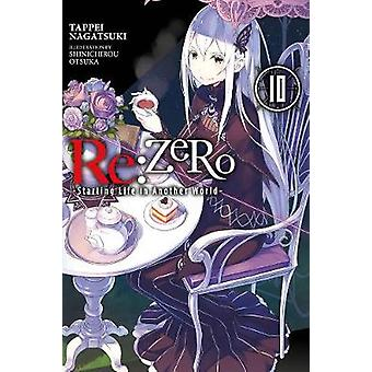 reZero Starting Life in Another World Vol 10 lichtroman RE Zero Starting Life in Another World Chapter 4 The Sanctuary and the Witch of Greed Manga