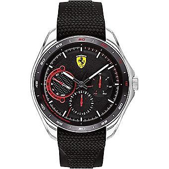 Scuderia Ferrari Analog Watch Quartz Man with Silicone Strap 0830683