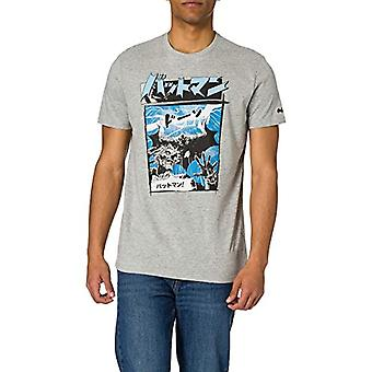 Springfield Camiseta Batman T-Shirt, Medium Grey, M Man