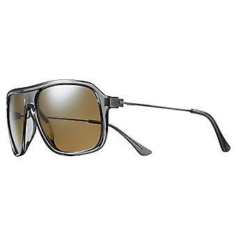 Solar Isaac Polarized Sunglasses Men's, Grey/Translucent