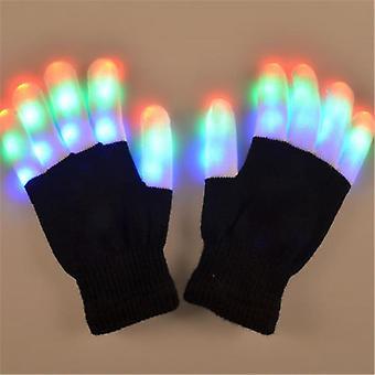 Led Rave Knipperende Handschoen