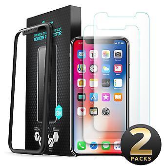 i-Blason iPhone X Näytönsuoja, Premium HD karkaistu lasi näytönsuoja, Iphone X