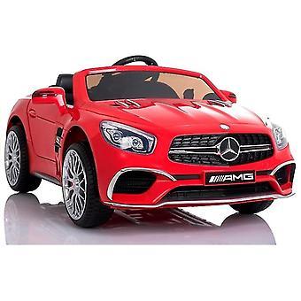 Mercedes SL65 AMG elektrisch fahrende Kinderauto - rot