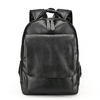 Men's Lederrucksack große Kapazität Reise Computer Student Tasche