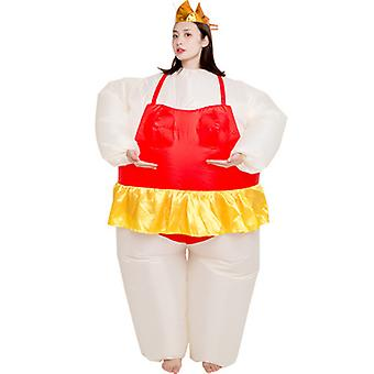 Inflatable Costume Ballet Costume For Show Halloween Christmas Cosplay Party Fancy Jumpsuit