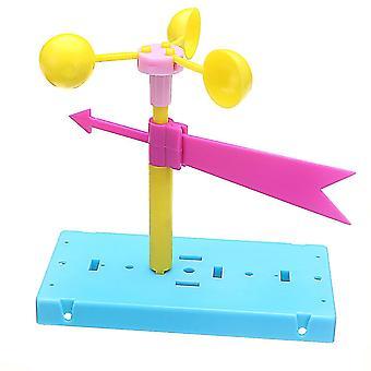 For vindflade vindretning fysik eksperiment DIY Videnskab Pædagogiske Legetøj Kit WS31123