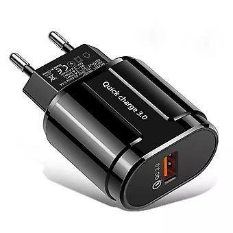 شاحن USB سريع الشحن السريع 3.0 4.0 أجهزة الشحن اللوحية للهاتف المحمول على الحائط