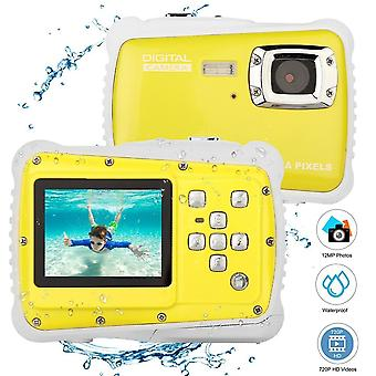 Kids Camera Waterproof, Digital Sport Action Camcorder, Underwater Shockproof