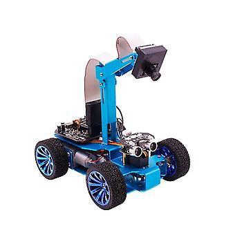 Yahboom stm32 קו בדיקה ויזואלית מכונית רובוט חכם עצמאי היגוי סרוו עם מצלמה מעקב ציד rc מכונית