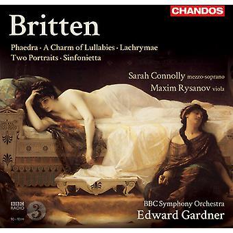 B. Britten - Britten: Phaedra; a Charm of Lullabies; Lachrymae; Two Portraits; Sinfonietta [CD] USA import
