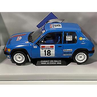 Peugeot 205 Rallye TDC 1990 #18 1:18 Scale Solido 1801706
