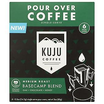 久州コーヒーコーヒーミディアムローストブレンド、ケース4×6各