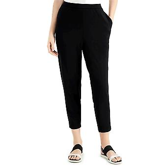Eileen Fisher Womens Pull-On Ankle Pants