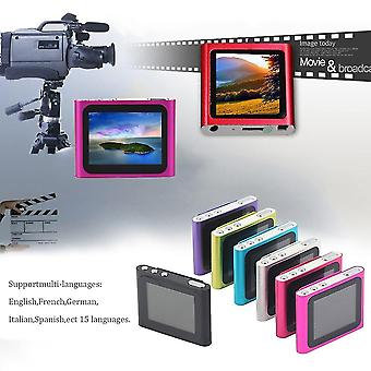 Portable 1.8 Inch Lcd Screen Display 6th Generation Music Media Mp4 Player