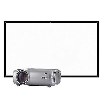 Multimedia projectors uhappy u43 led lcd projector 1080p home theater 2600 lumens 200 inches