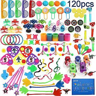 120 Set Kindergeburtstag Mitbringsel & Mitgebsel Mix – Kleine Geschenke für Kinder, Party