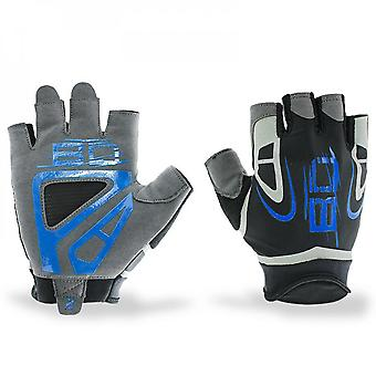 New Men's Fitness Gloves Sports Non Slip Silicone Breathable Comfortable Fitness Riding Gloves