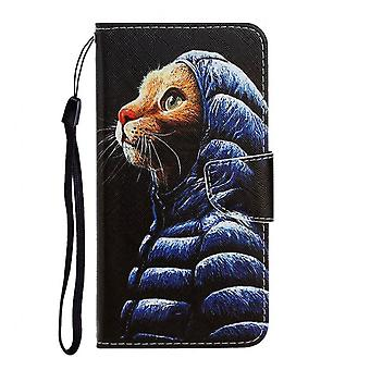 Luxury Pu Leather Case For Coque Huawei Y6p Case Cover Wallet Flip Case For Funda Huawei Y6p Etui Phone Case For Huawei Y6p