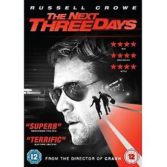 Nästa tre dagar DVD