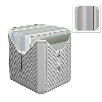 Evago Waterproof Cover For Outside Units Central Air Conditioner Cover Heavy Duty Top Cover