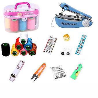 Швейный комплект Малый многофункциональный бытовой ручной стежок иглы нить хранения Kit