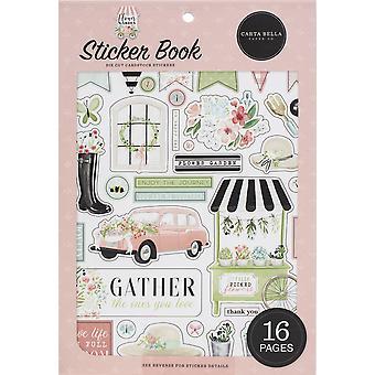 Carta Bella Sticker Book - Flower Garden