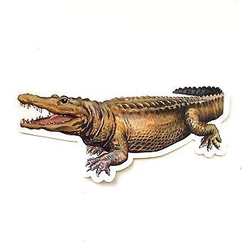 Vintage Alligator Water-resistant Vinyl Sticker
