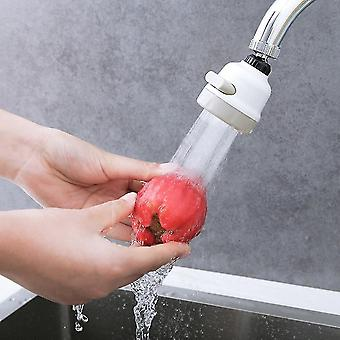 Faucets 360 degree swivel 3 modes faucet sprayer bubbler water saving head tap