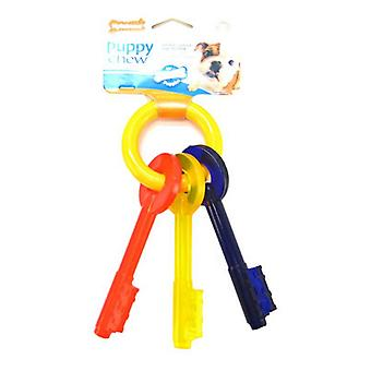 Nylabone Puppy Chew Teething Keys Chew Toy - Small (For Dogs up to 25 lbs)