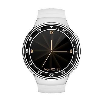 Chronus Smartwatch Men IP67 Waterproof Sports Heart Rate Wireless Earphones Bluetooth Smartwatch(White)