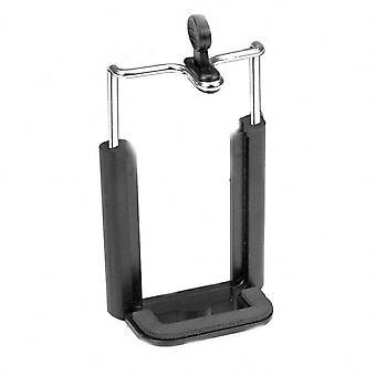 Tripod Mount for Mobile Phone Bracket Foam Padded Protection Universal - Black