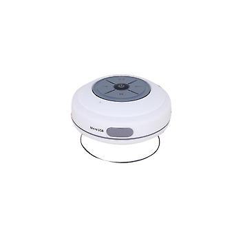 Přenosný vodotěsný bezdrátový reproduktor Subwoofer Bluetooth (bílý)