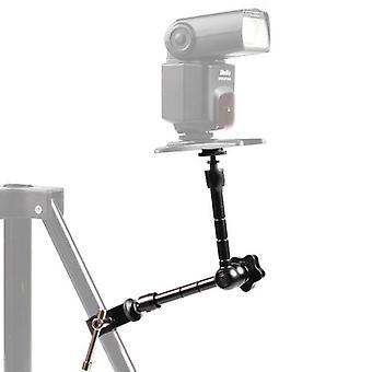 11'' Articulating Magic Arm + super Clamp Crab Plier Clip for Camera Monitor