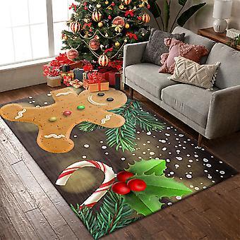 Homemiyn زينة عيد الميلاد البساط غير زلة السجاد أفخم لينة لغرفة المعيشة غرفة النوم
