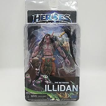 7 Zoll Helden des Sturms World Of Warcraft Dämon Form Illidan Figur