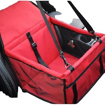 Premium Respirant Pet Yarns Car Mat Imperméable Sac Suspendu Chien Accessoires Rouge