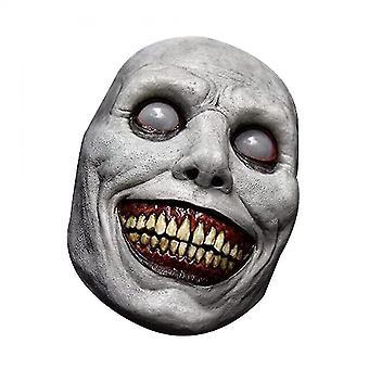 Exorcist Smiling Mask Scary Halloween Cosplay Mask