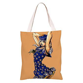 الكرتون أنيمي قماش حقيبة التسوق Totes، جوجو مغامرة غريبة #14